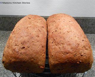 Heerlijk gezond brood van spelt met noten en zaden
