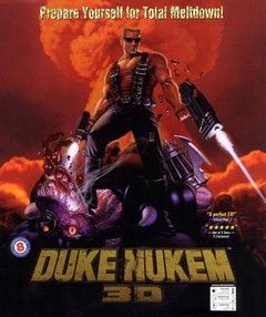 """Duke Nukem 3D - 3D Realms - PC - 1996 """"It's time to kick ass and chew bubble gum"""" http://www.mediator.io/"""