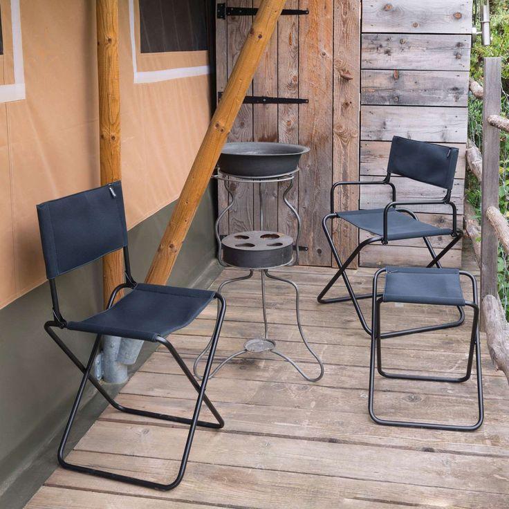 Outdoor Lafuma AirShell CNO Batyline Folding Travel Chair - Set of 6 - LFM1249-1685