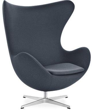 Arne Jacobsen Egg Chair - modern - armchairs - hive