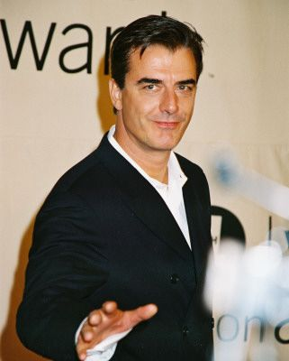 Chris Noth - fell in love with him on Sex and the City, now The Good Wife. Hair on a 58 yr old guy--priceless!