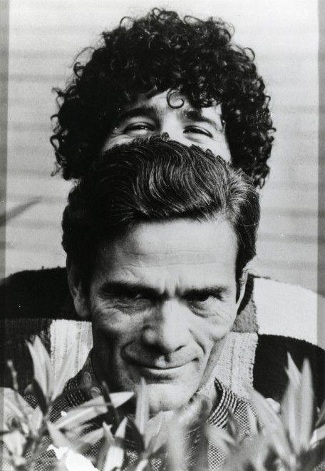 Pier Paolo Pasolini e Ninetto Davoli