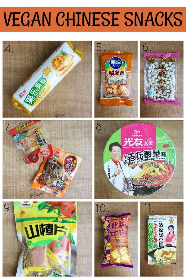 Authentic Chinese: Vegan Chinese Snacks | Vegan Snacks