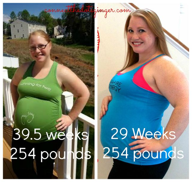 3rd Pregnancy, heaviest weight but feeling better. Click how! www.connectthedotsginger.com