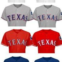 Texas Rangers Drop Black, Update All Team Uniforms for 2014