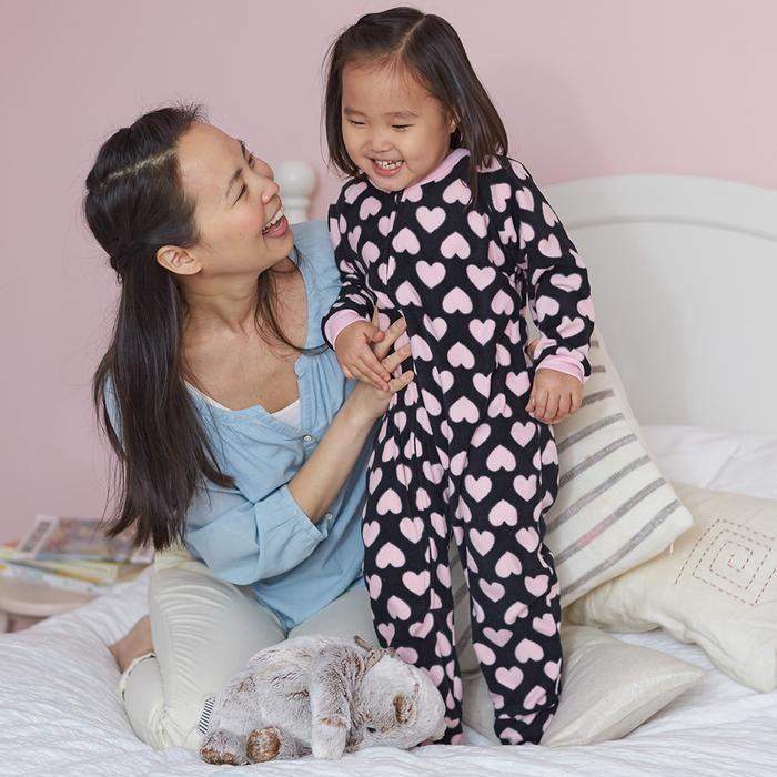 2-Pack Toddler Girl Pink Hearts Blanket Sleepers | Toddler girl, Blanket  sleeper, Toddler