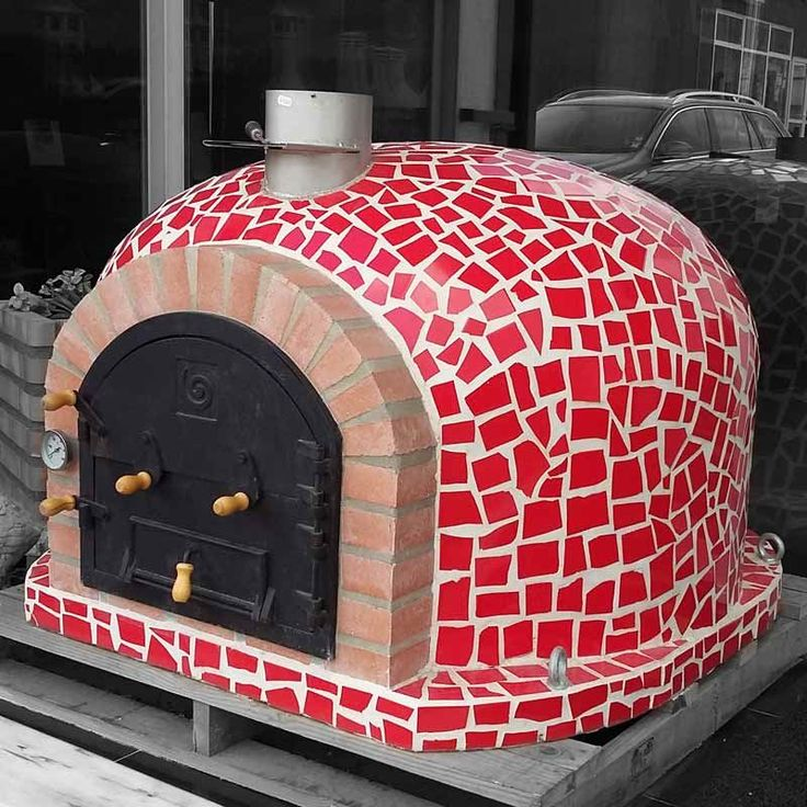Outdoor Pizza Oven - MOSAIC Mediterranean  ( click to expand )