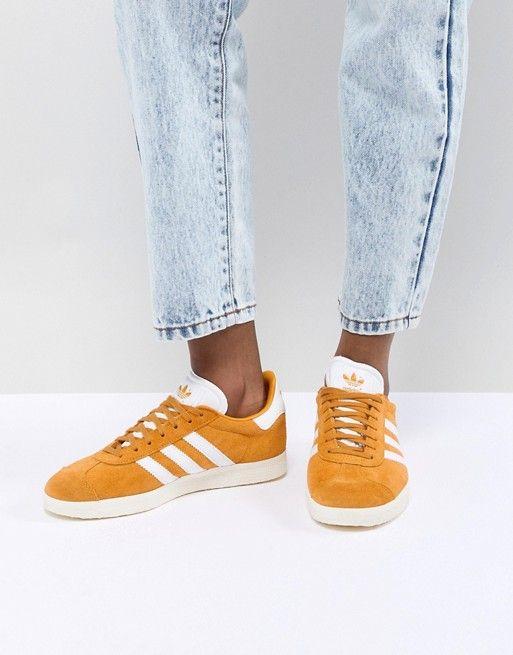 adidas Originals | adidas Originals Gazelle Sneakers In Mustard ...