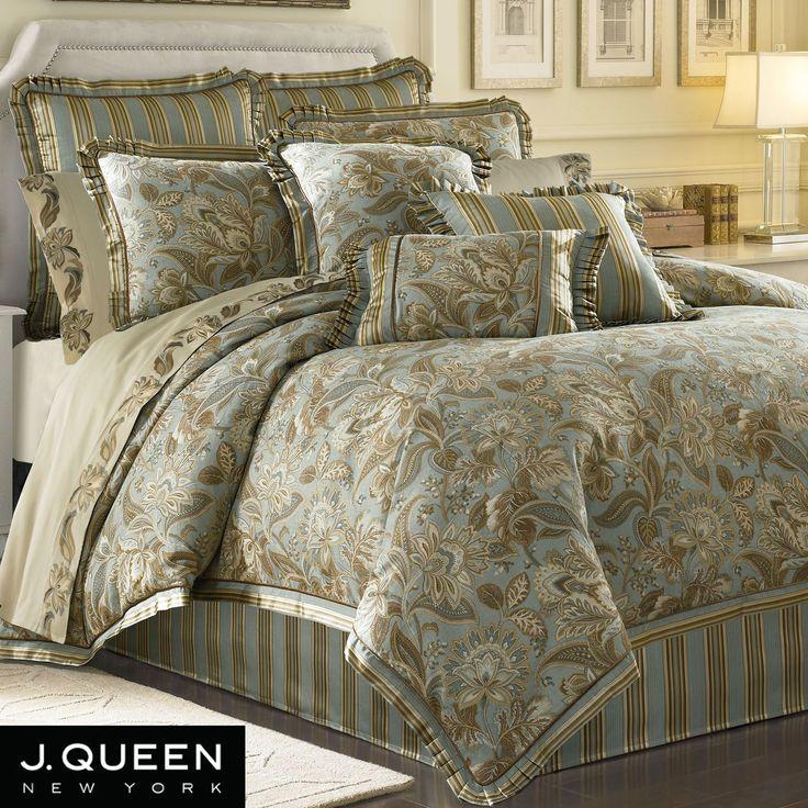 Alicante Jacobean Comforter Bedding By J Queen New York