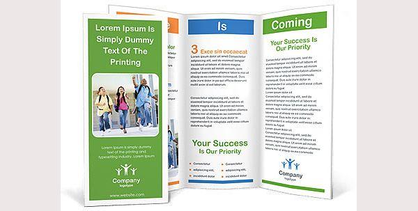 Brosur Sekolah - School Children Brochure Template