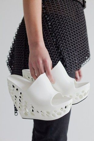 3D printed shoes. Technology and fashion #http://www.mylocal3dprinting.com                                                                                                                                                                                 More