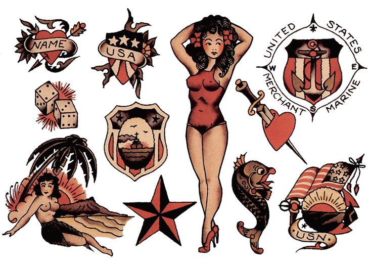 78 best images about sailor jerry vintage tattoo designs