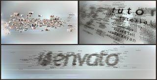 Multi Video & Multi Text Logo Formation