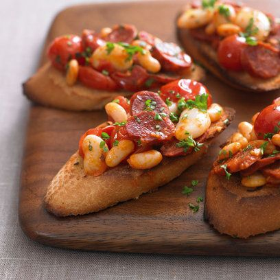34 best spanish cuisine images on pinterest spanish for Chorizo canape ideas
