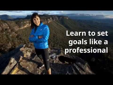 Learn how to set goals like a professional