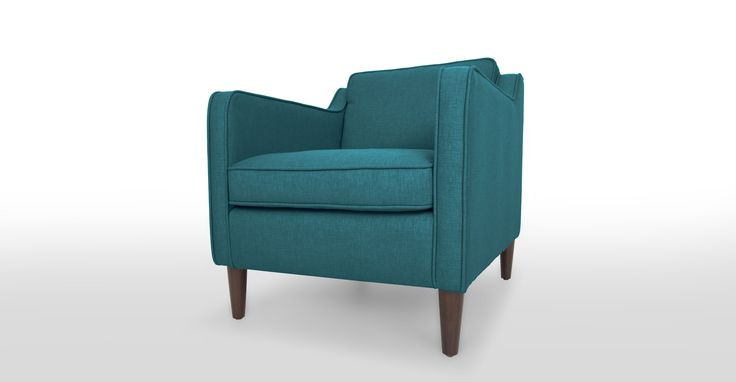 Best 25 teal armchair ideas on pinterest timorous for Teal reading chair
