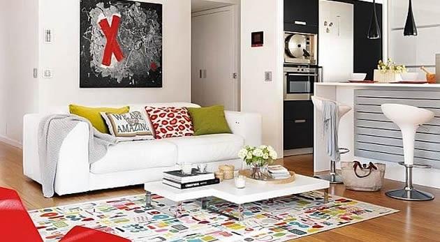 salon blanc maison Pinterest