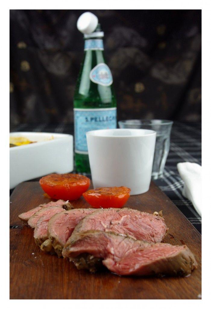 Lammrostbiff med portvinssås & gratäng | Doft och smak