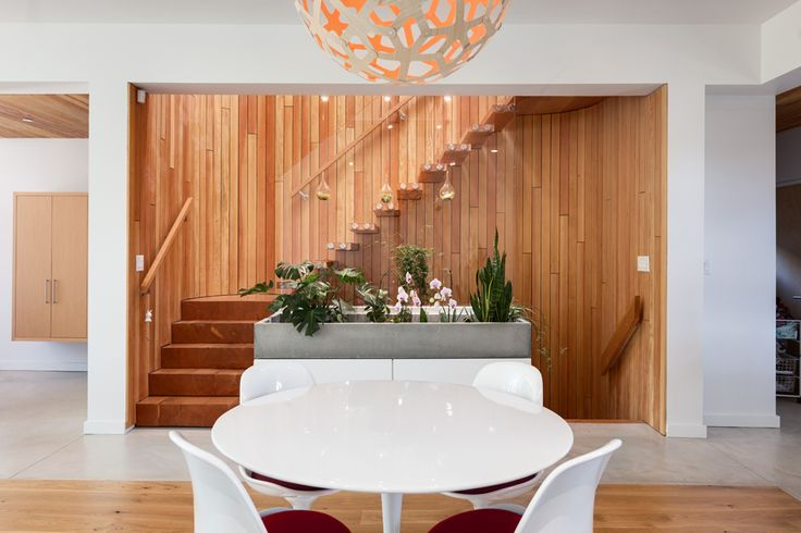 Entrance Lobby & Dining area | Eco Home | West Coast Modern | Passive House | Photo taken by Two Column Marketing