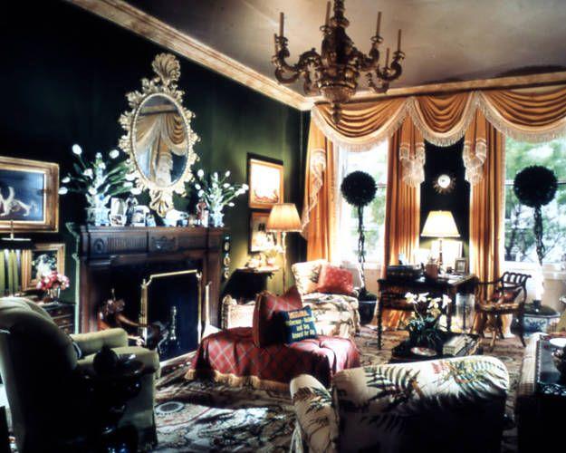 159 best Beautiful Interiors Mario Buatta images on Pinterest