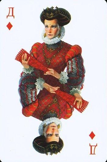 """Mafia"" game deck by Vladimir Kazak"