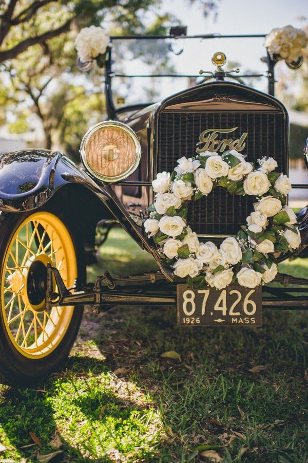 Model T Vintage Wedding Getaway Car Always A Yes