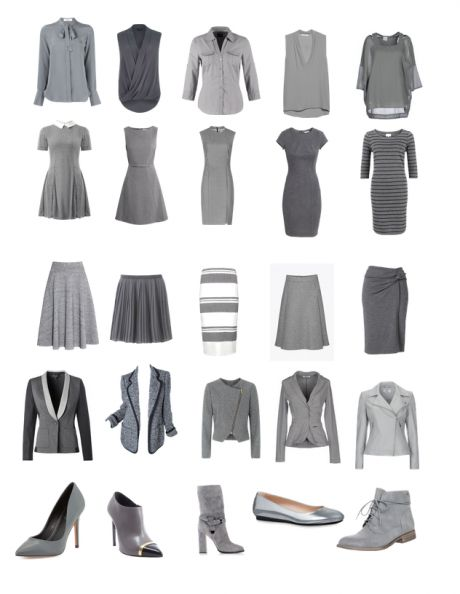 wearing grey doesn't have to look boring. When you pair grey with grey correctly it can look gorgeous. The trick is to combine very different textures!
