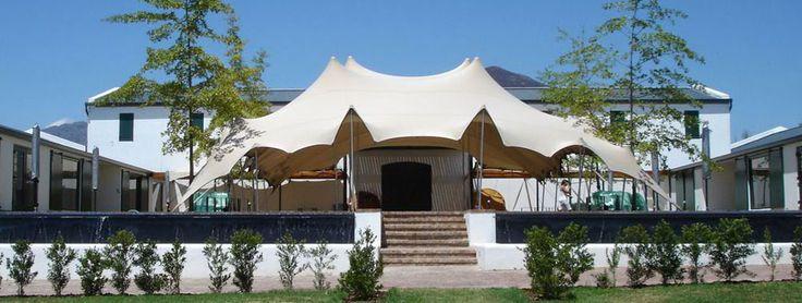 Front yard Nomadic Tent