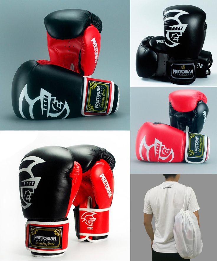 [Visit to Buy] 10-16 OZ Wholesale Brazilian PRETORIAN Muay Thai PU Leather Boxing Gloves Twins Women Men MMA Gym Training Grant Boxing Gloves #Advertisement