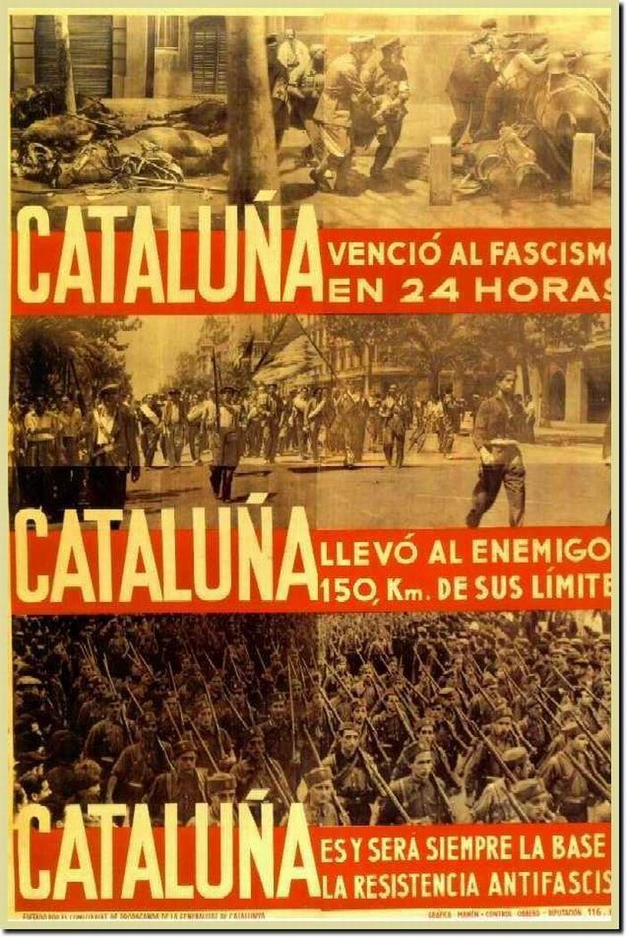 Revolutionary propaganda poster   Spanish civil war 1936/39 #Afiches @deFharo