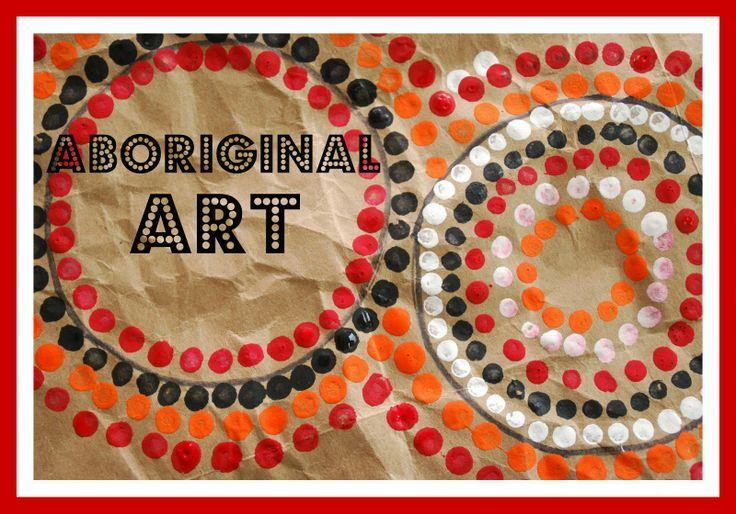 Aboriginal Dot Painting Patterns   Aboriginal Art