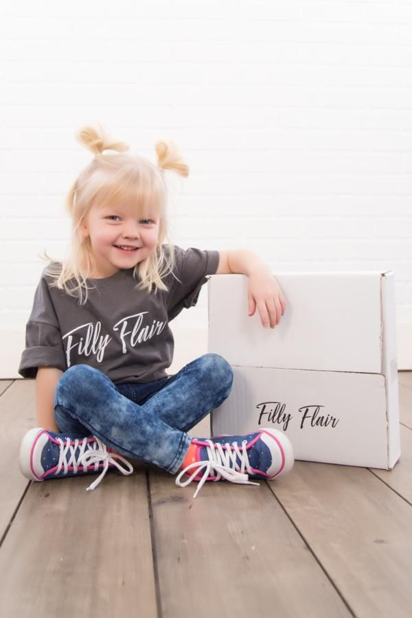 KIDS FILLY FLAIR BOX #kids #ad #fashion