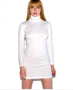 white turtleneck dress - Google Search