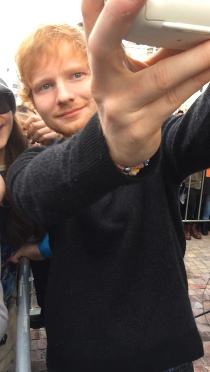 """caagna: """"My photo of Ed Sheeran in Melbourne today - 26/9/14 """""""