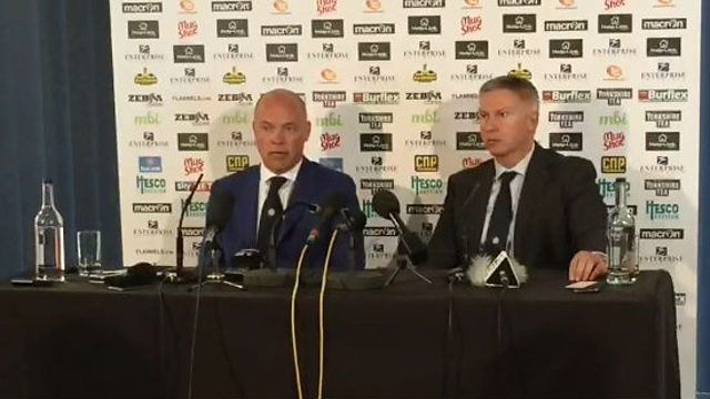 BBC Radio Leeds - West Yorkshire Sport, 20/05/2015, Leeds United Press Conference: Uwe Rosler & Adam Pearson