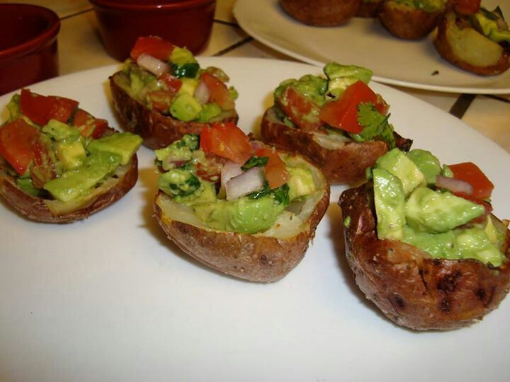 Mexican stuffed spuds