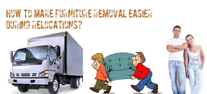 How to Make Furniture Removal Easier During Relocations