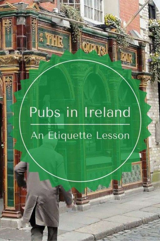 Knowing what NOT to order at a pub in Ireland is an important thing to know.