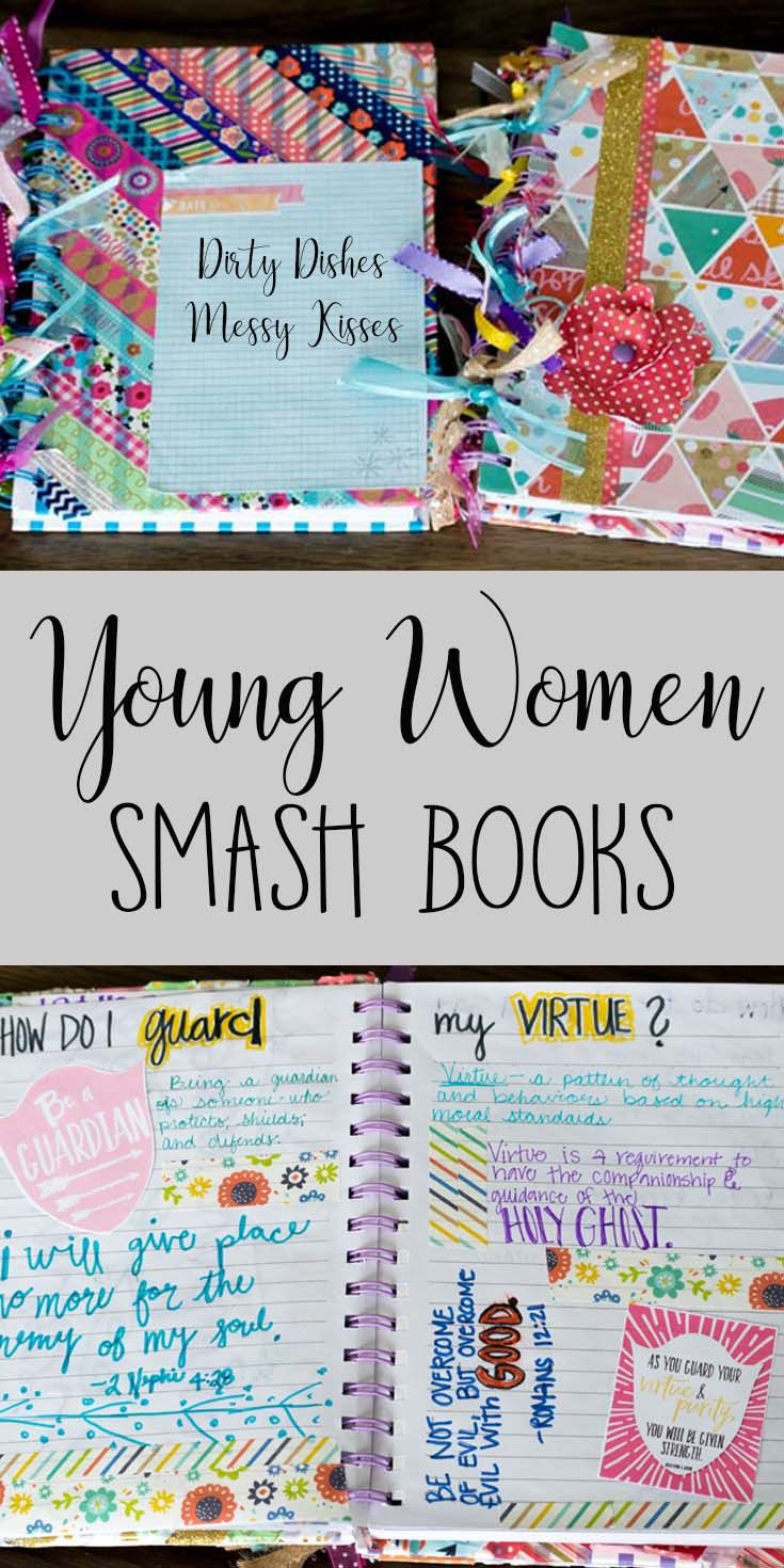 YW Smash Books – Let the creativity fly for your Young Women with these journal/scrapbook lesson helps. This has been such a fun idea that everyone is loving. Check out our cute decorations and mutual idea and how we help our girls journal about each lesson so they really understand and remember them!