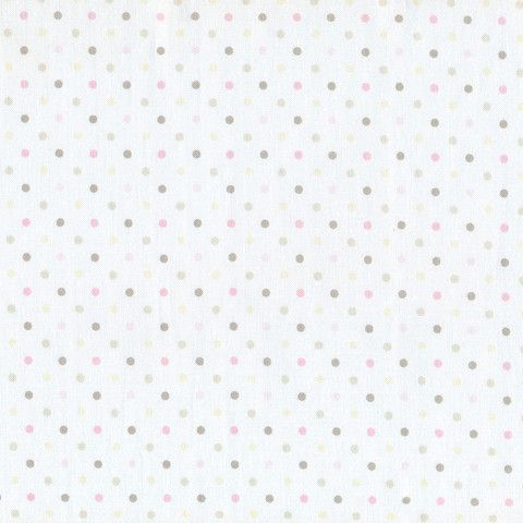 Guess How Much I Love You Pink Bunny Spots $3.00 #fabric #guesshowmuchiloveyou
