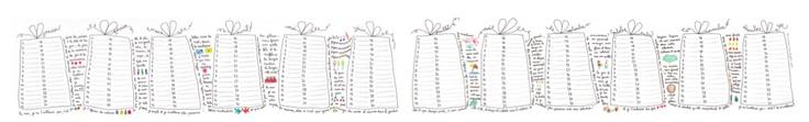 le calendrier des anniversaires by Papillon-Papillonnage