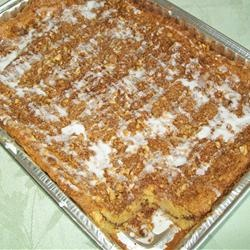 Graham Streusel Coffee Cake Recipe (*pecans instead, nurses liked ...