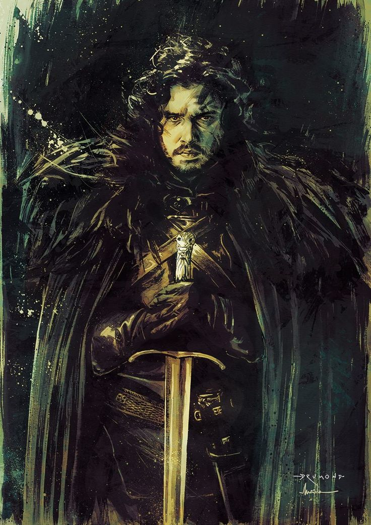Game of Thrones - Jon Snow by Drumond Art___©___!!!!
