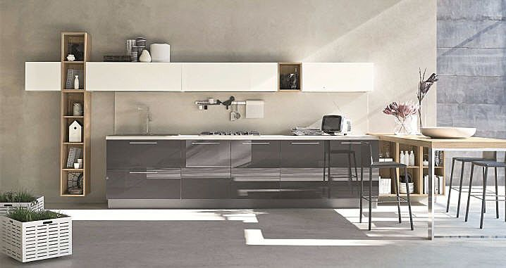 ALEVE' HANDLE: A blend of styles in perfect urban style - STOSA CUCINE - News and press releases