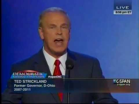 Gov. Ted Strickland's Speech at 2012 Democratic National Convention