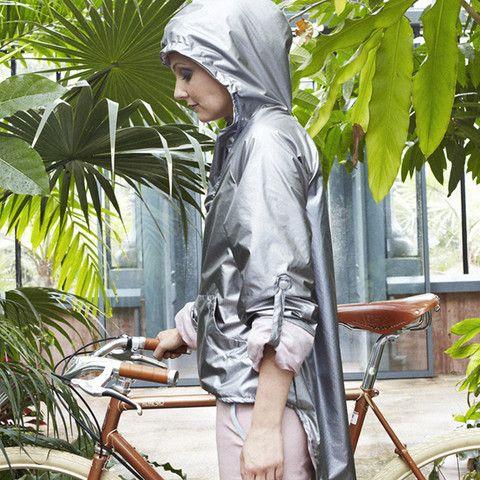 Aurora Jacket by Urban Legend. #raincoat