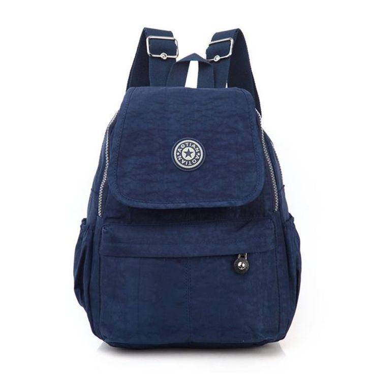 Brand Woman Shoulder Backpack Ladies Spacious Schoolbag Fashion High quality Book Bags Rucksack Travel College Satchel mochila *