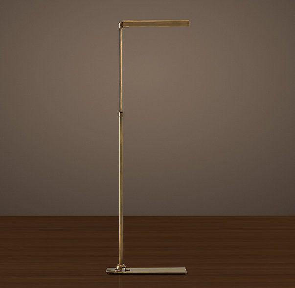 Slimline Task Floor Lamp Feather My Ny Nest Decorative