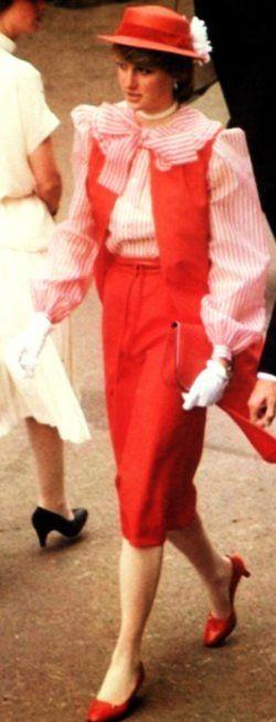 Lady Diana Spencer , Royal Ascot - Juin 1981 _ Suite