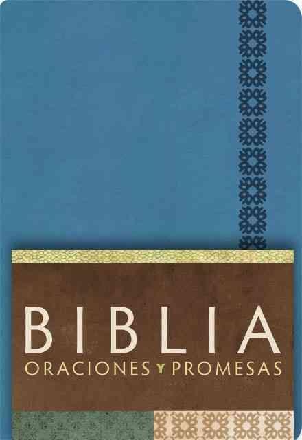 Biblia oraciones y promesas / Prayers and Promises Bible: Reina Valera Contemporanea, Azul o / Blue